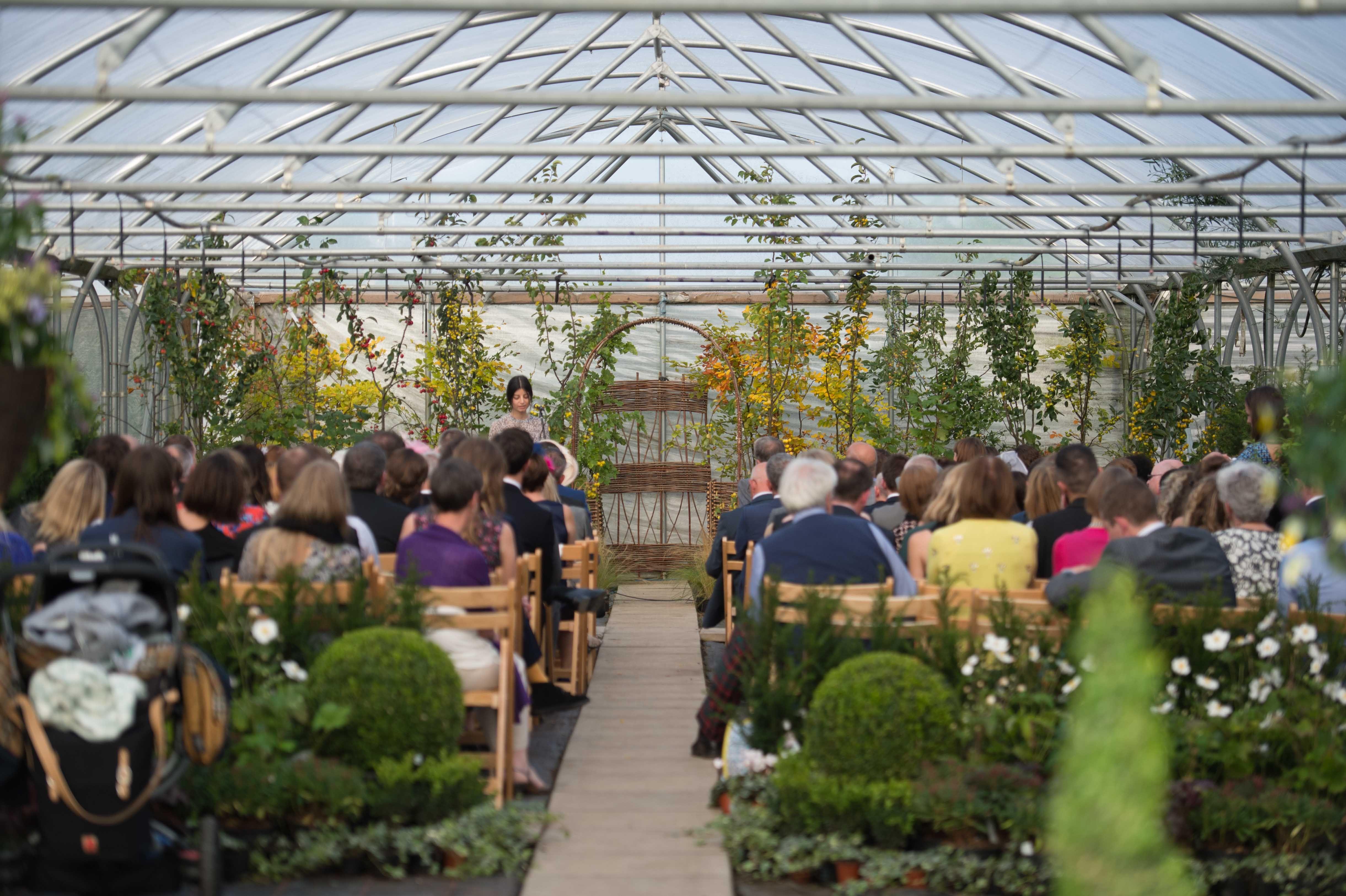 Polytunnel Wedding Venue Garden Wedding Greenhouse Wedding Wedding Venues