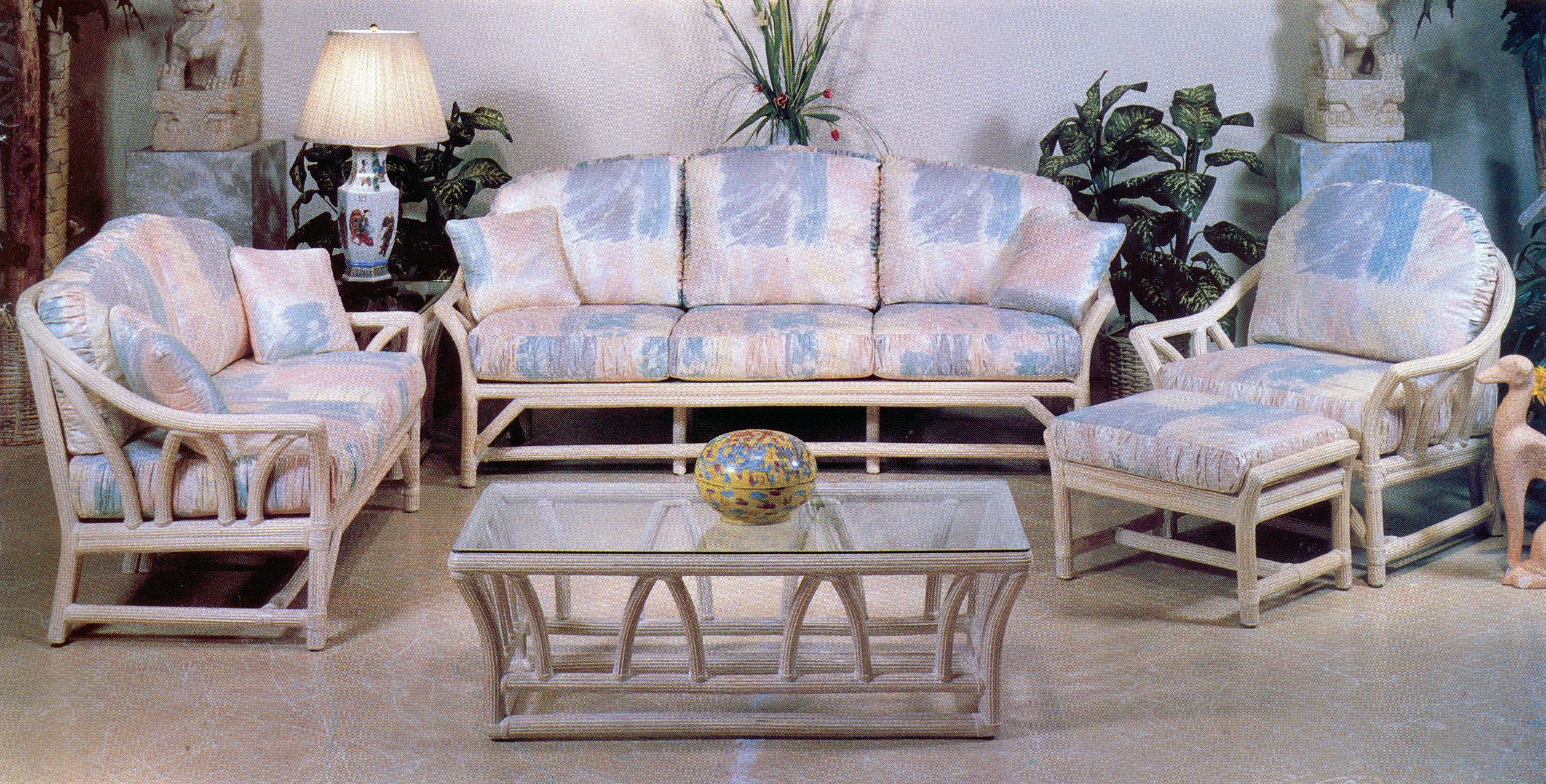 Rattan Furniture By Ayers · Bamboo FurnitureModern PatioPottery Barn MagnoliaTropical