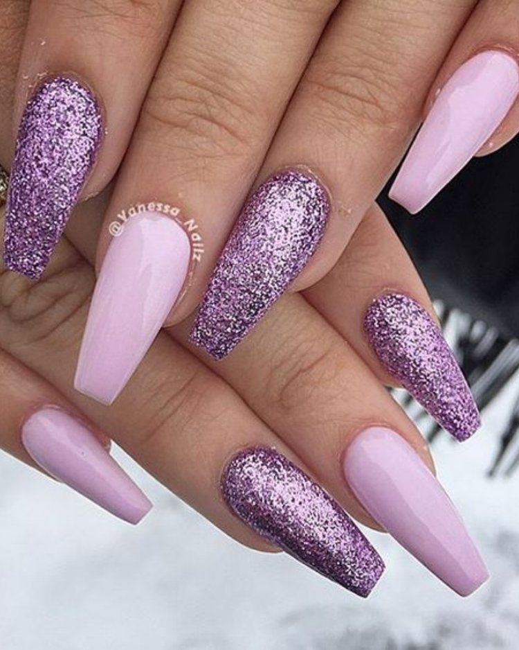 2016 Nail Trends 101 Pink Nail Art Ideas Purple Gel Nails Lilac Nails Purple Nail Art