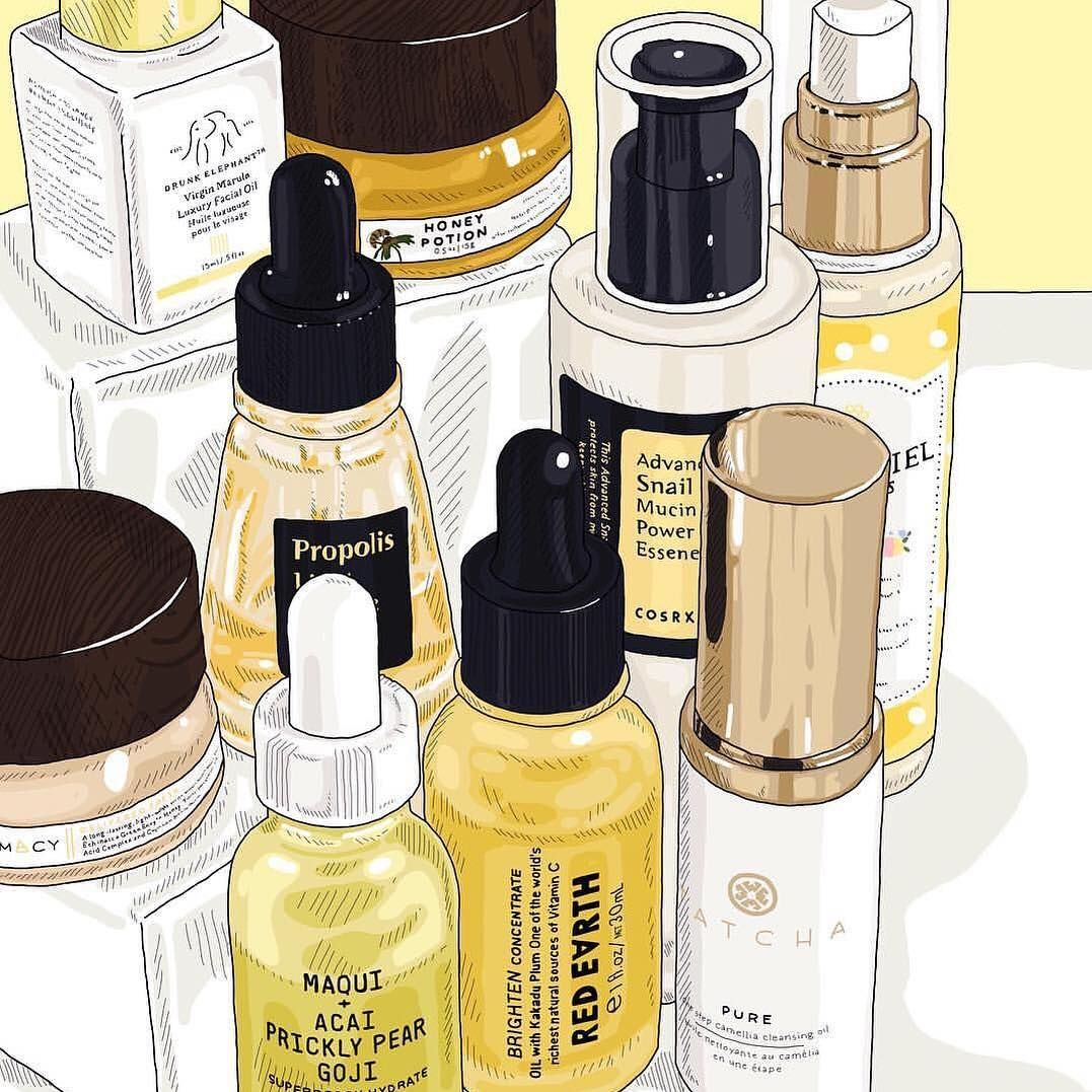 Here S A Bright Yellow Skin Care Stash To Brighten Up Your Day And Your Skin ☀️ Skin Care