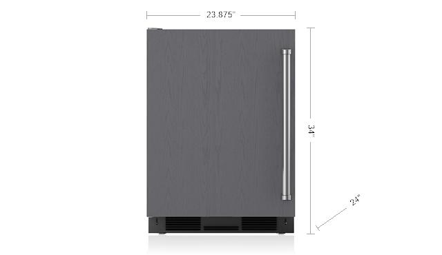 24 Quot Undercounter Refrigerator Panel Ready Undercounter