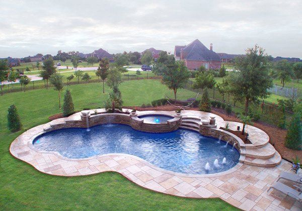 15 Remarkable Free Form Pool Designs | Pools | Pinterest | Pool ...