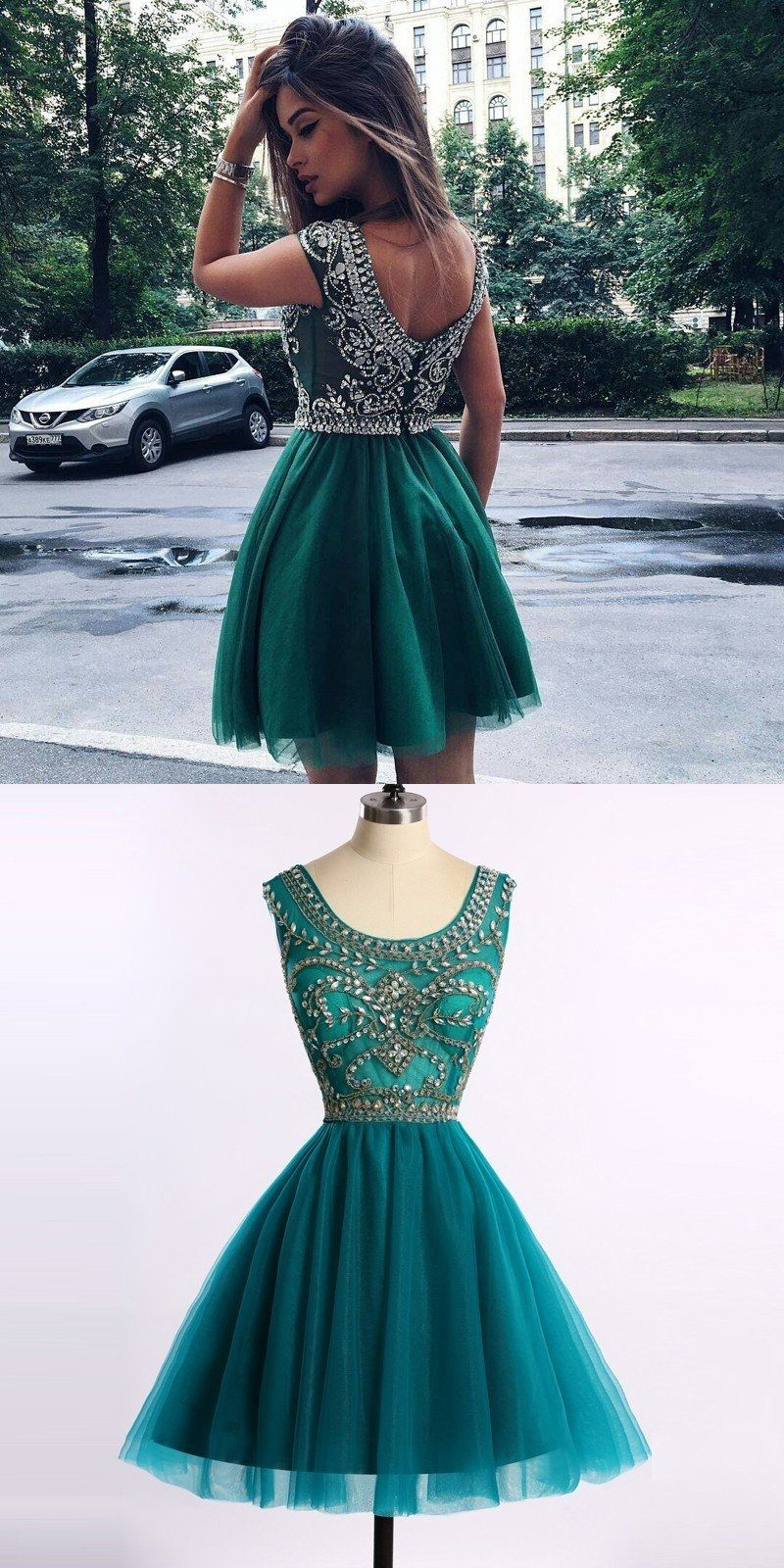 Long prom dresses chic turquoise hunter homecoming prom dress