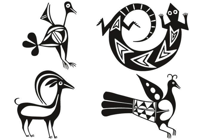 Aztec Animals Creative Ideas Pinterest Aztec