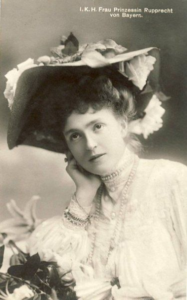 Marie Gabrielle, the wife of Crown Prince Rupprecht of Bavaria.