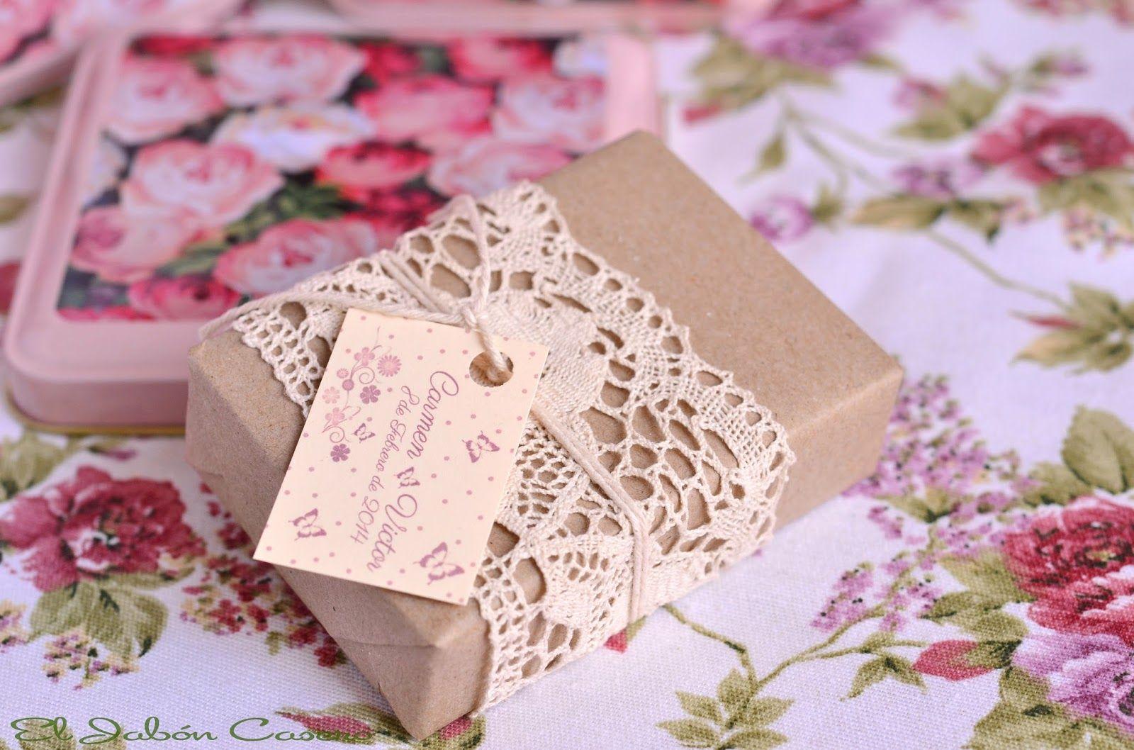 El Jabón Casero: Detalles de bodas, jabones... encajes... Detalles ...