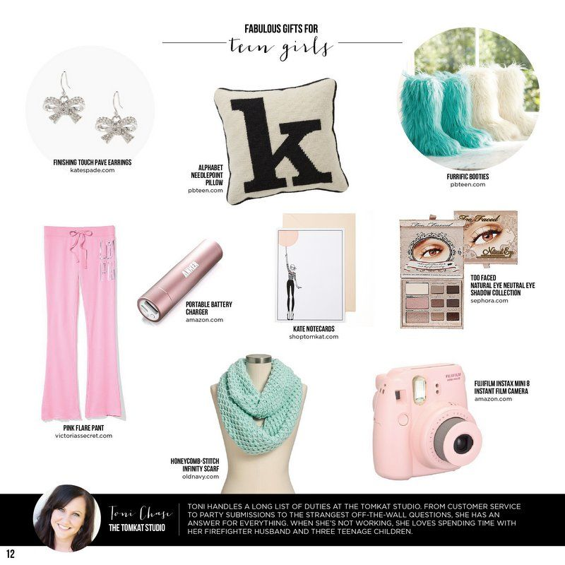 LAST MINUTE Fabulous Gifts For Teen Girls TomKat Holiday Gift Guide