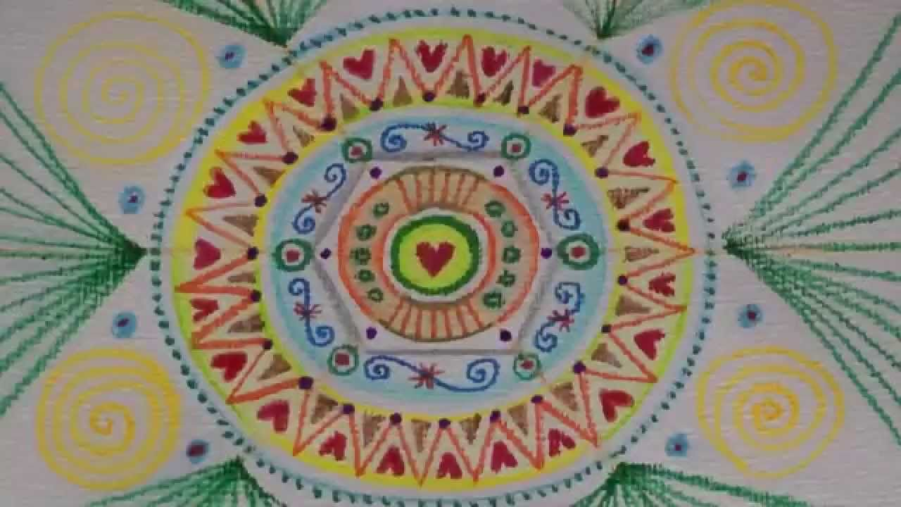 5 Mandalas In 9 Minuten Ulrike Hirsch Ulrike Hirsch