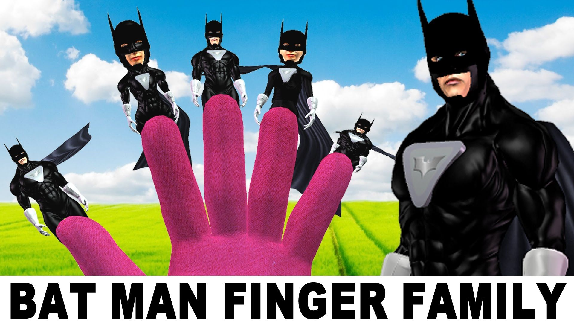 Batman Vs Hulk SuperHeros in Action | 3D Cartoon Animation Finger Family...