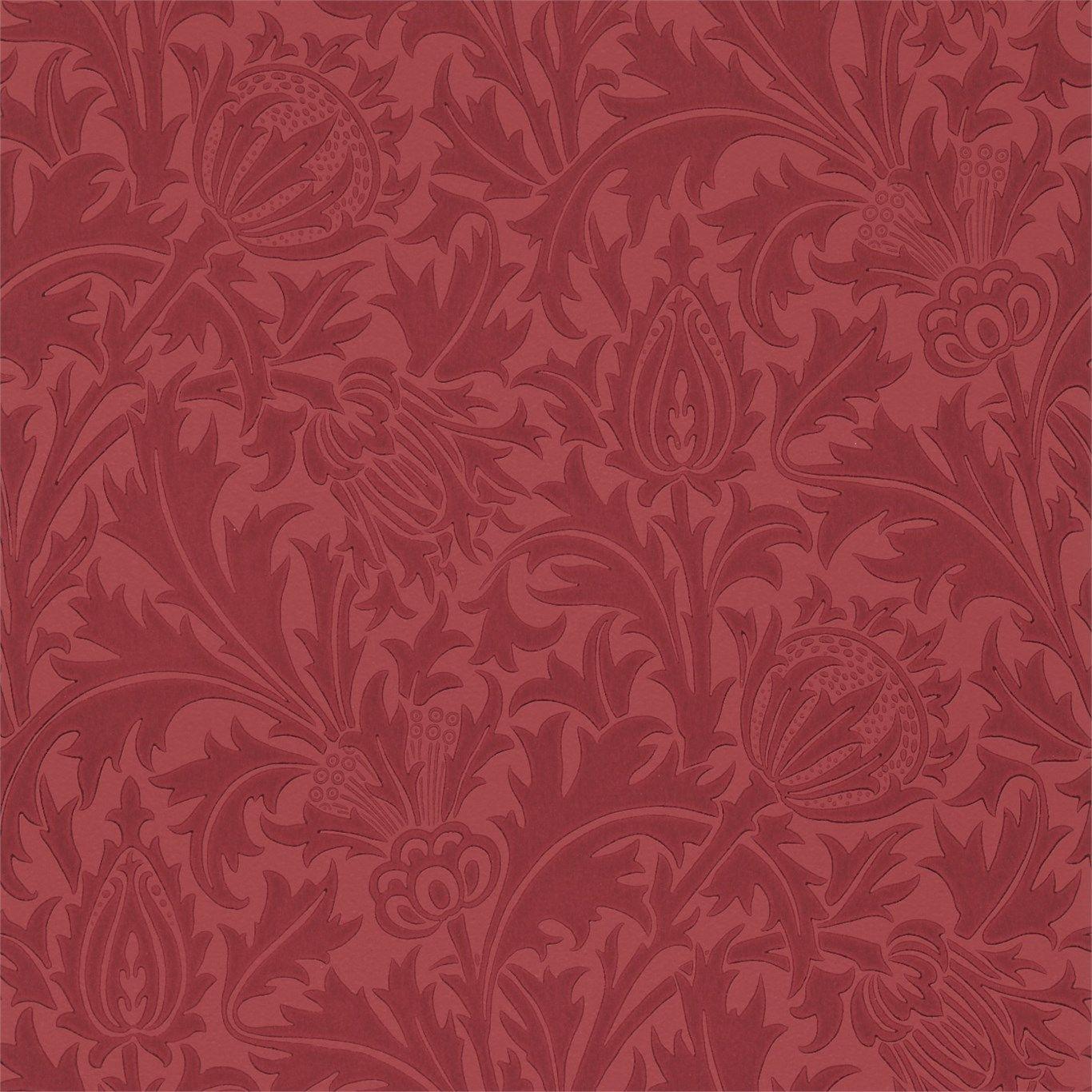 Thistle WM8608/4 Morris wallpapers, William morris