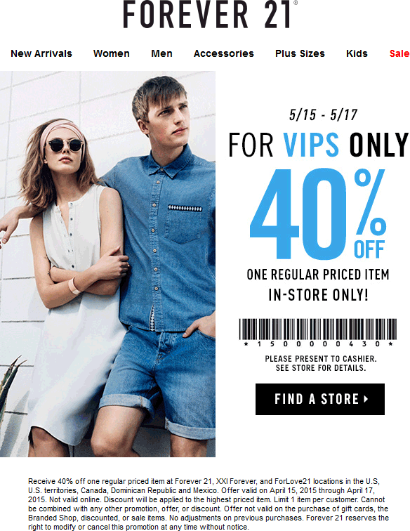 40 Off A Single Item At Forever 21 Xxi Forever And Forlove21 Xxi Kids Sale Women