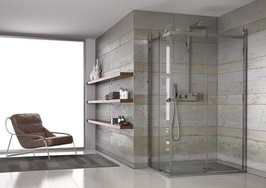Aqualight di Grandform è un box doccia che si