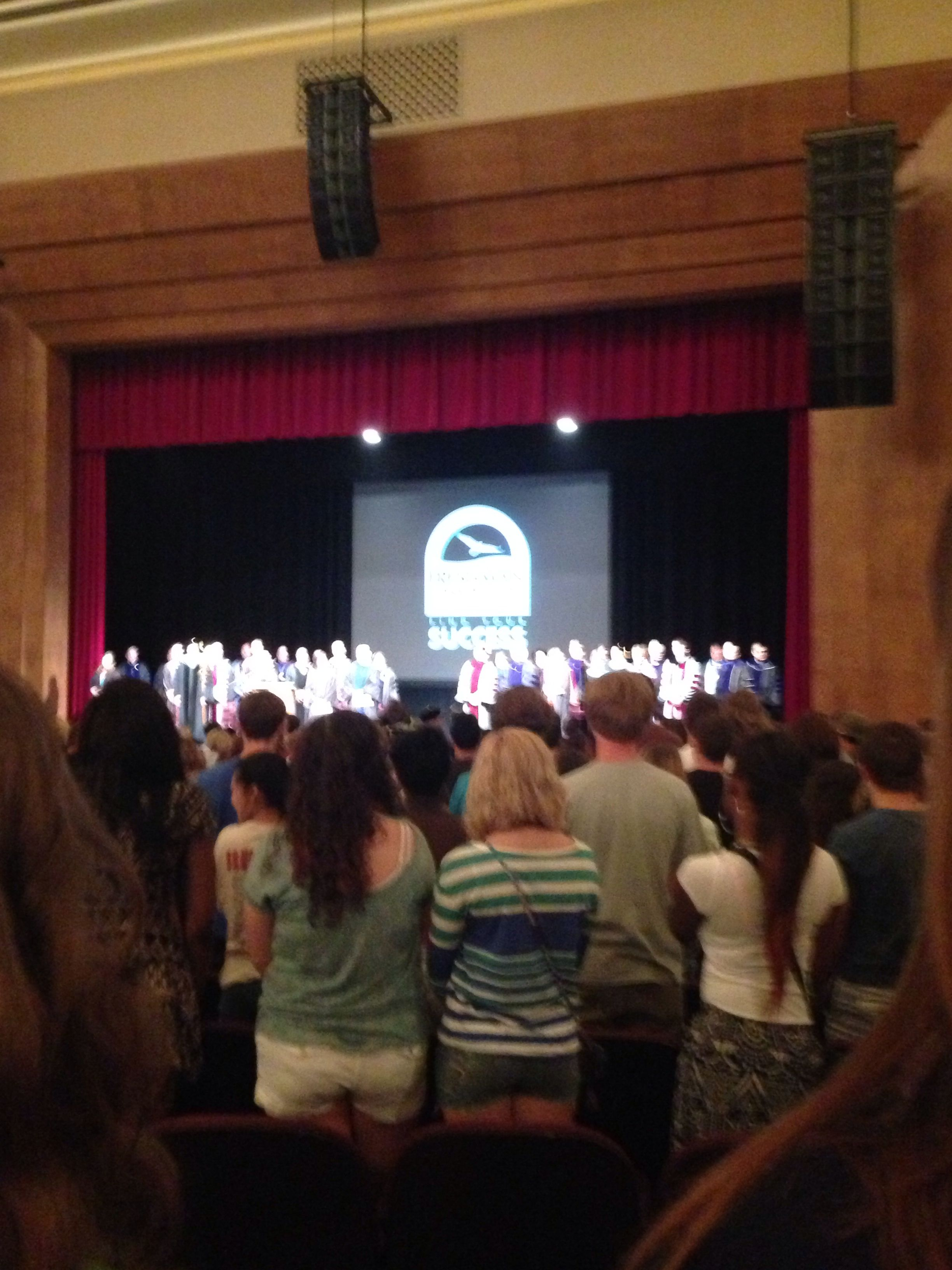 Freshman convocation indiana university of pennsylvania