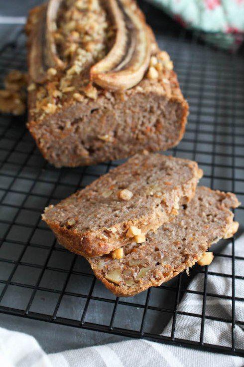 Gesundes Bananen Karotten Brot Rezept Bread Pinterest Vegan