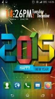 download free happy new year 2015 colors android theme mobile theme htc mobile theme downloads