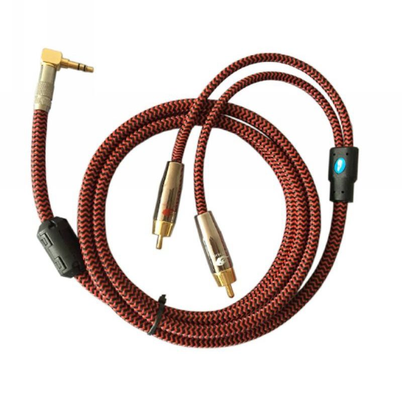 Audio Cable Right Angel Mini Jack 1/8\