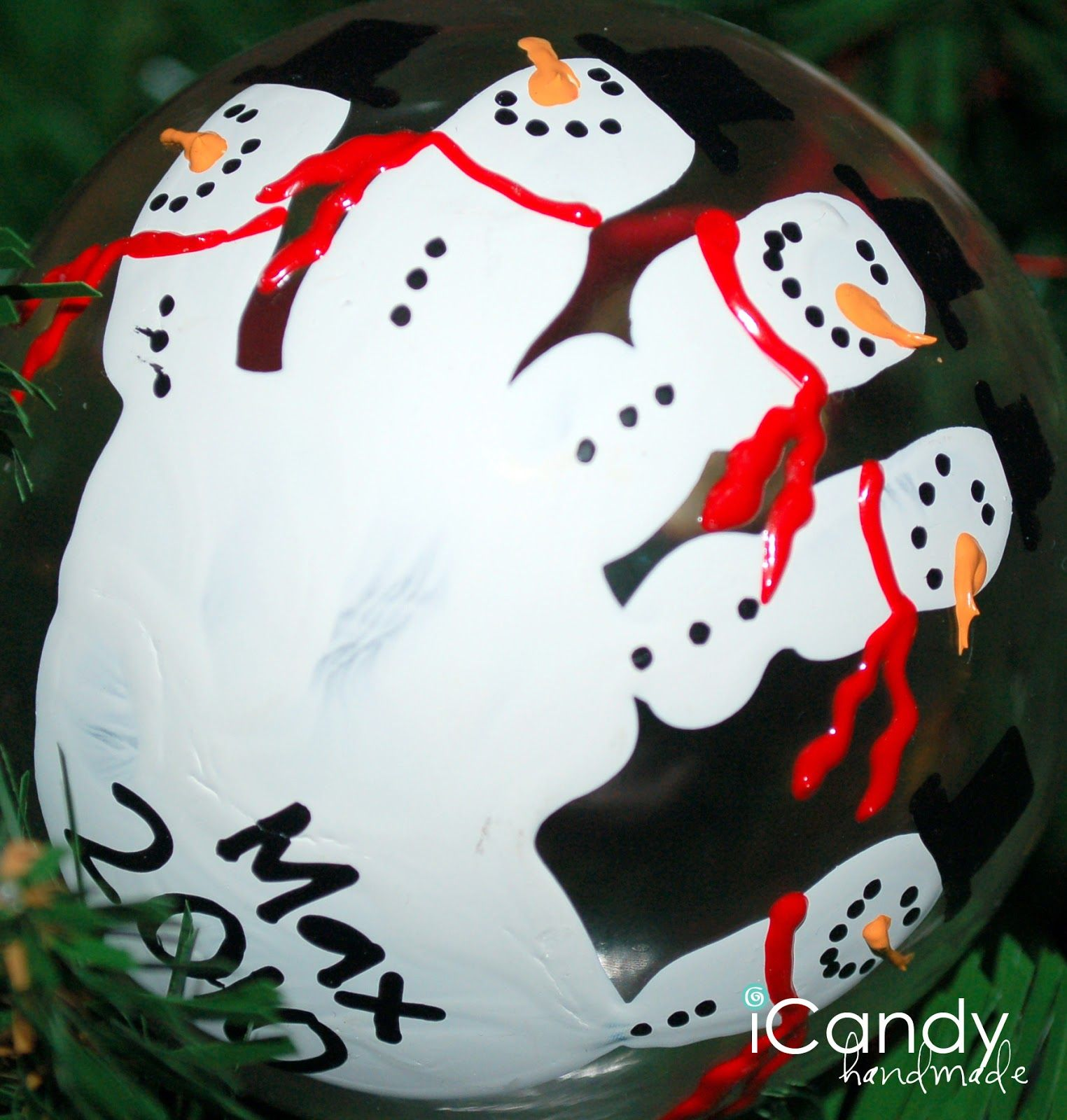 icandy handmade: (iCandy) Handful of Handmade Christmas Ornaments #bestgiftsforgrandparents