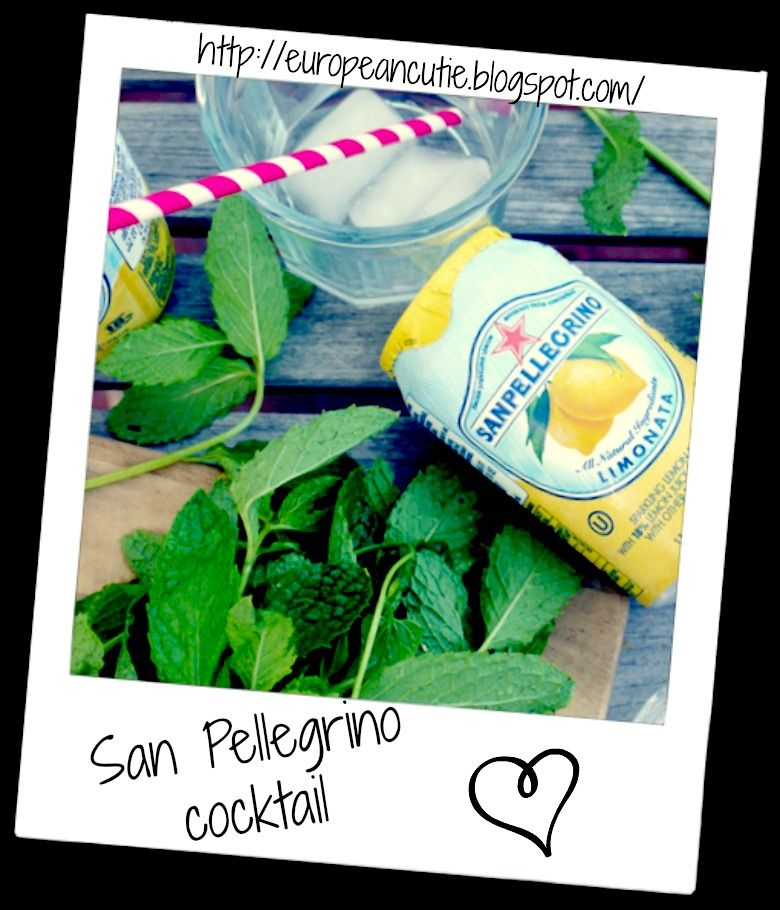 "Here is a great spiked lemonade drink for ""Thirsty Thursday"" with one of my fave products San Pellegrino! ♥ http://europeancutie.blogspot.com/2013/07/san-pellegrino-spiked-lemonade-cocktail.html"