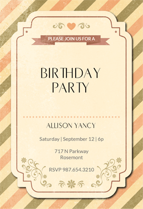 Rustic chic printable invitation template customize add text and rustic chic printable invitation template customize add text and photos print download stopboris Image collections