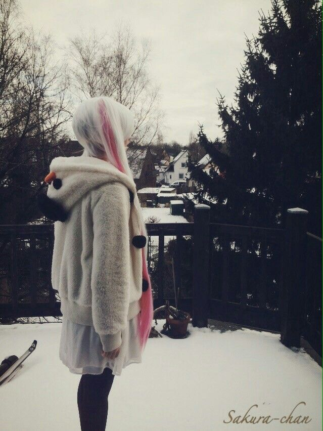 #cosplay #cold #snow