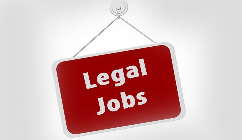 Current Opening Legal Jobs For Fresher Legal Recruitment 2019 So