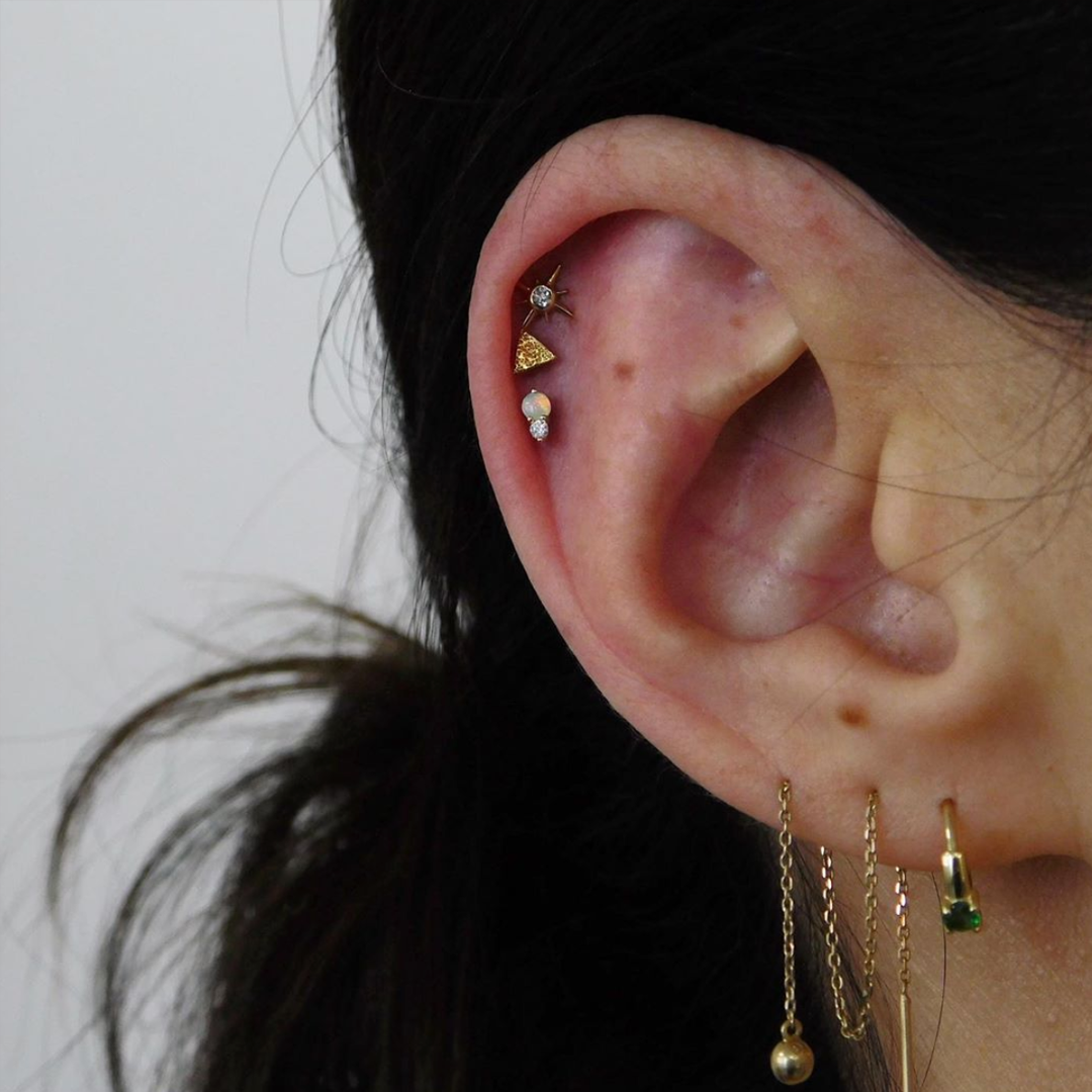 Pin On Curated Ear Piercings