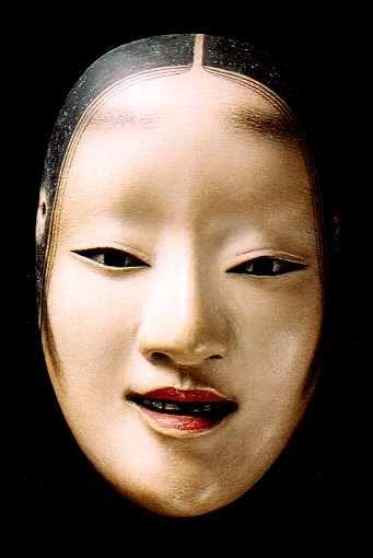 noh theater mask japan mask headpiece makeup. Black Bedroom Furniture Sets. Home Design Ideas