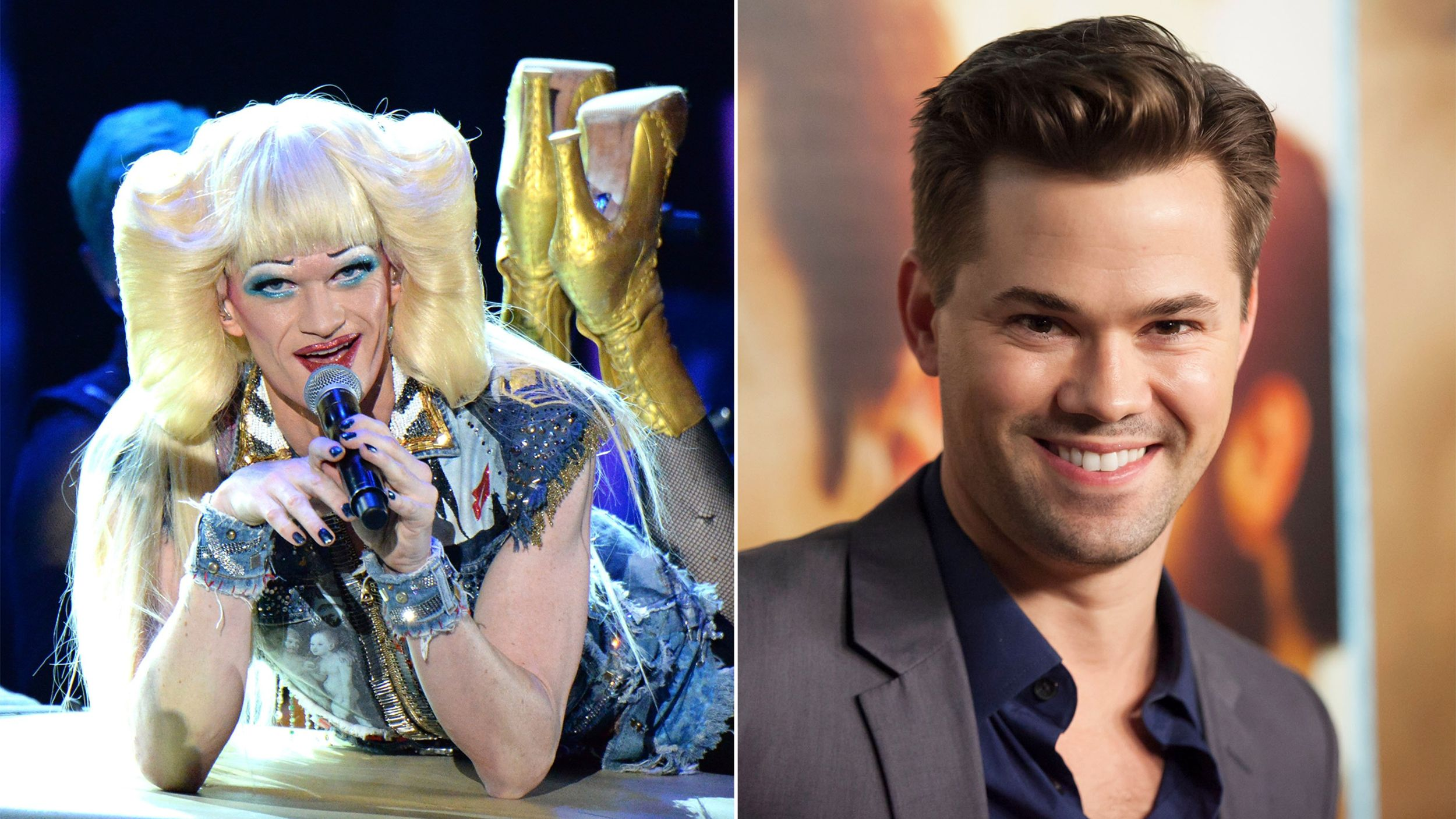 Neil Patrick Harris Exiting Hedwig And The Angry Inch Girl