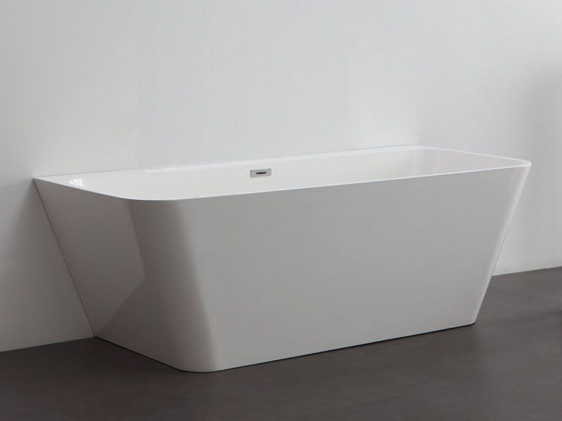 Kzoao Back to Wall Cast Stone Bath 1500mm | Baths | Pinterest ...