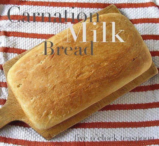Recipe Carnation Milk Bread Evaporated Milk Recipes Milk Recipes Carnation Milk Recipes