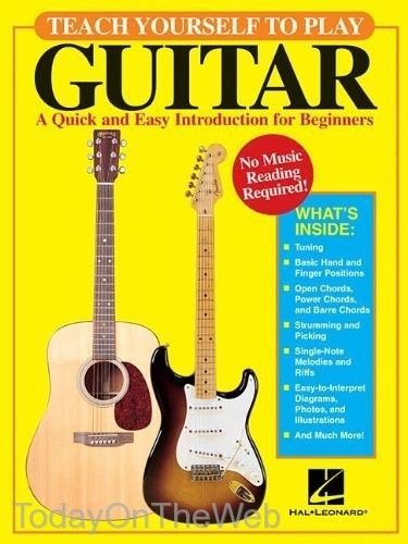 Details about Teach Yourself to Play Guitar A Quick and