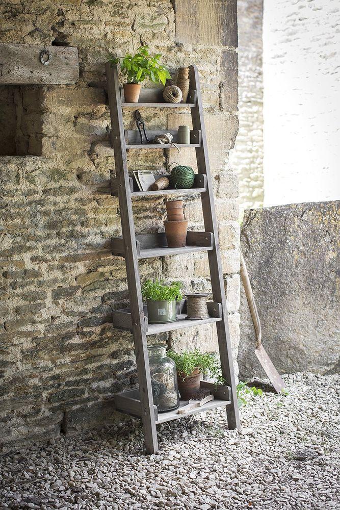 Garden Aldsworth Outdoor Patio Planter Flower Storage Stand Shelf Ladder 6  Tier In Home, Furniture U0026 DIY, Furniture, Bookcases, Shelving U0026 Storage |  EBay