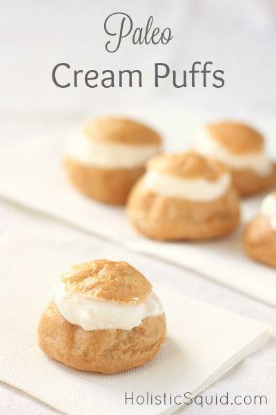 Paleo Cream Puffs Recipe Paleo Recipes Dessert Cream Puff