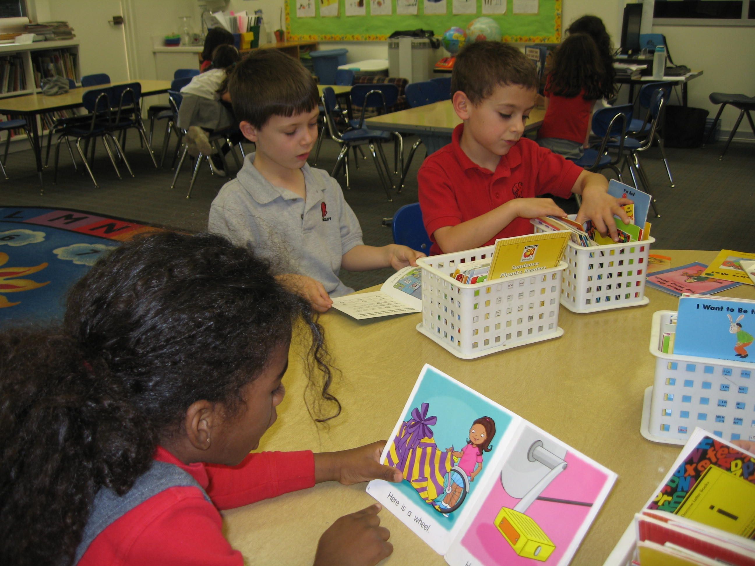 Kindergarten Reading Workshop