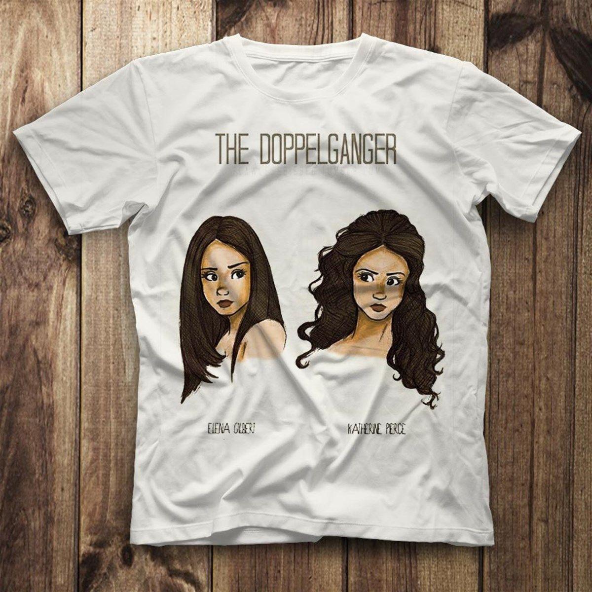 The Vampire Diaries White Unisex T Shirt Tees Shirts Vampire Diaries Shirts Vampire Diaries Tee Shirts