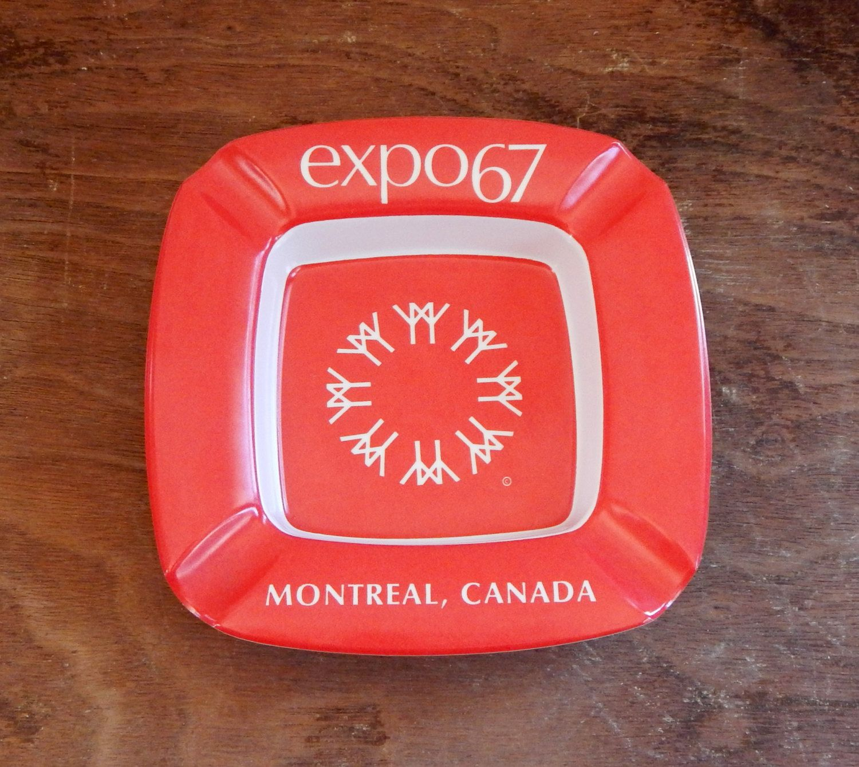 Vintage Ashtray Expo 39 67 Montreal Canada World 39 S Fair