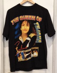 6238142a177c58 Vintage SELENA QUINTANILLA Double Sided 90 s T-Shirt