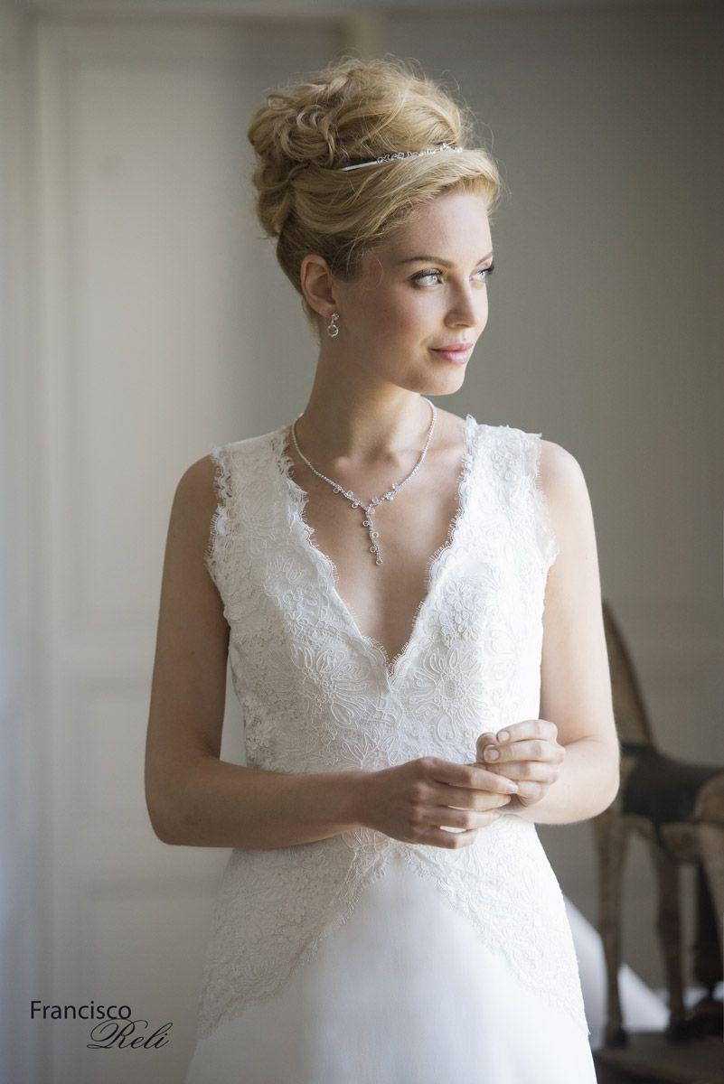 Belles wedding dress  Francisco Réli Fétiche  Belles Robes  Pinterest  Robes Mariage