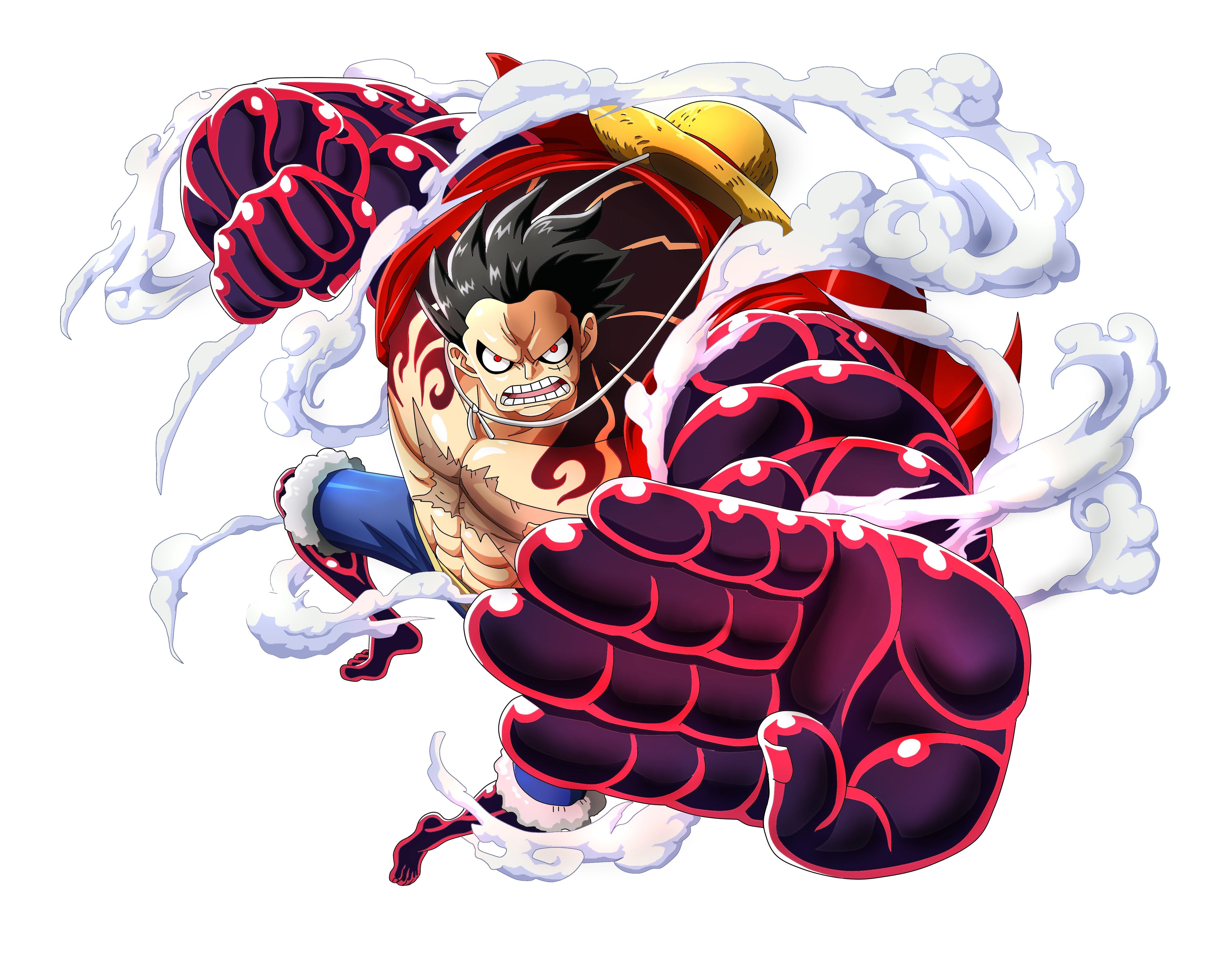 Monkey D Luffy One Piece Anime Boy Punch