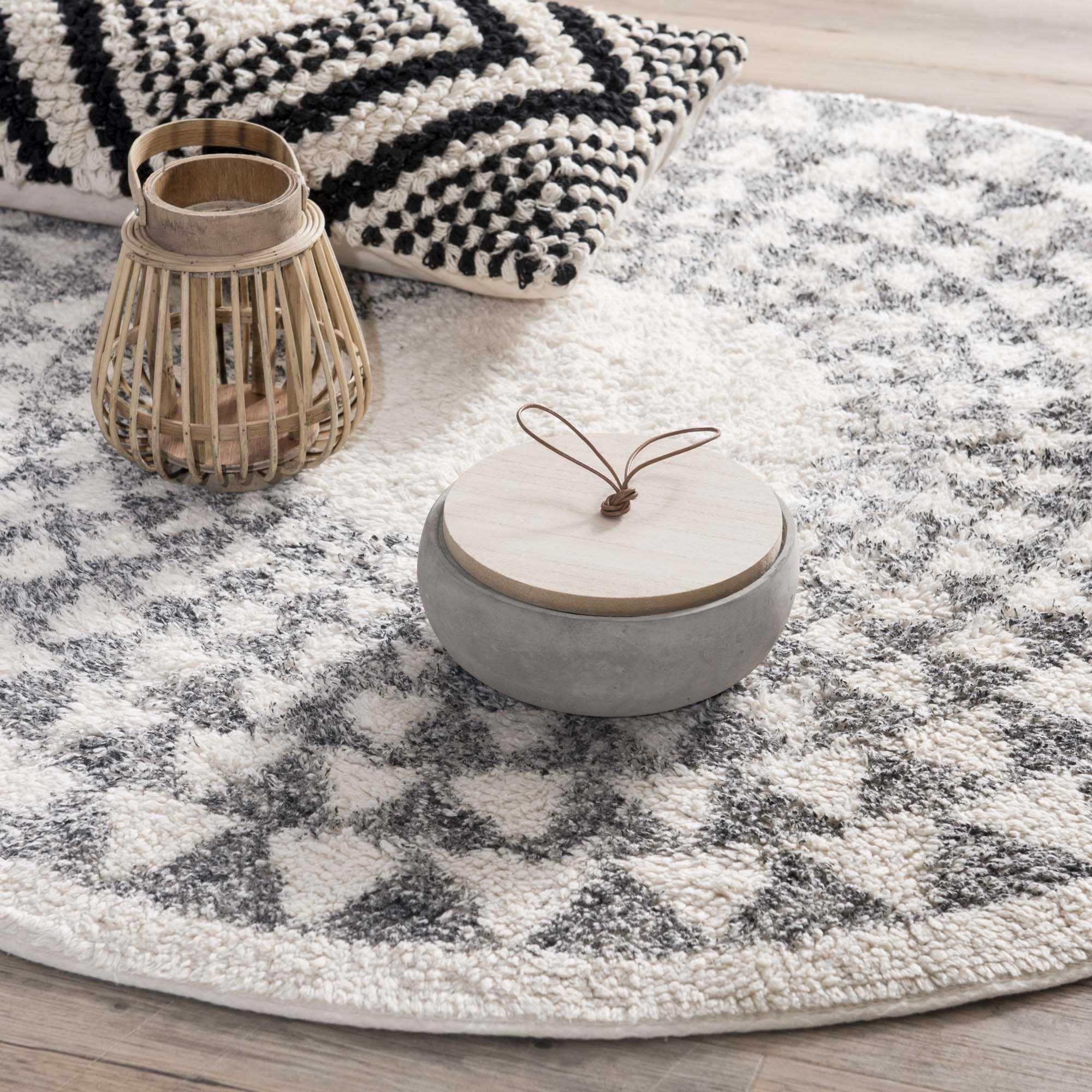 berbere tapis rond tapis tapis