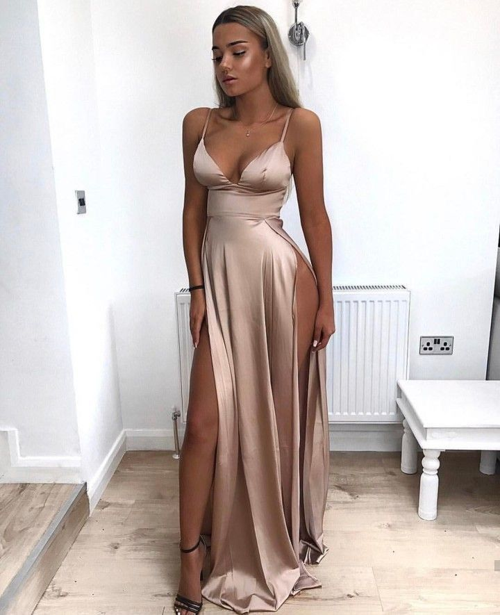 Pinterest Satin Gown