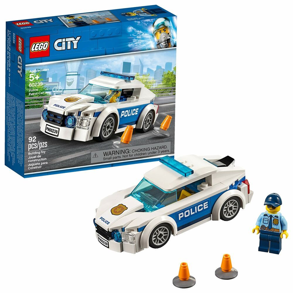 Lego City Police Patrol Car 60239 Building Kit New 2019 92 Piece Afflink When You Click On Links To Various Merchant Lego City Police Lego City Sets Lego City