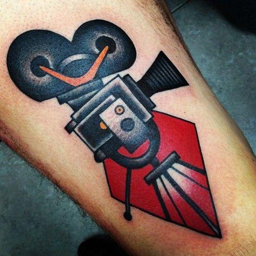 Traditional Style Camera Tatuagem Ideias De Tatuagens Tatoo