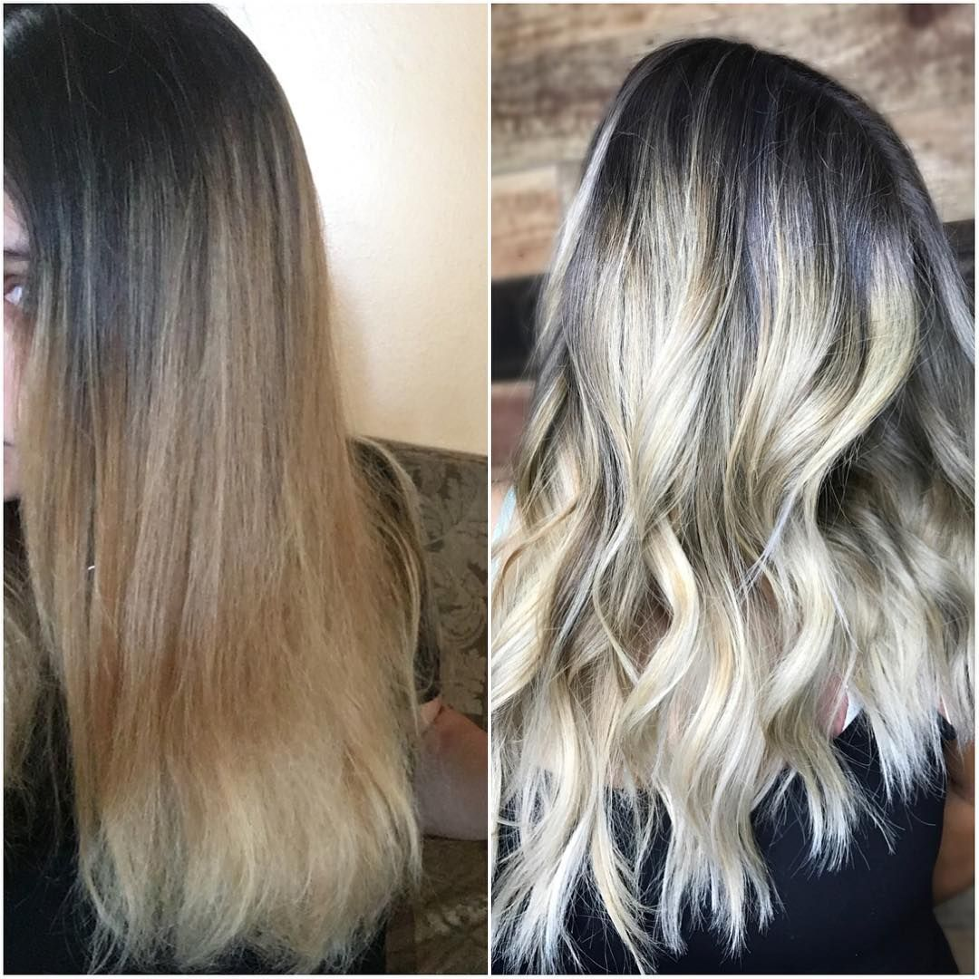Double Process Hair Color Corrections Instagram Photos How To Add