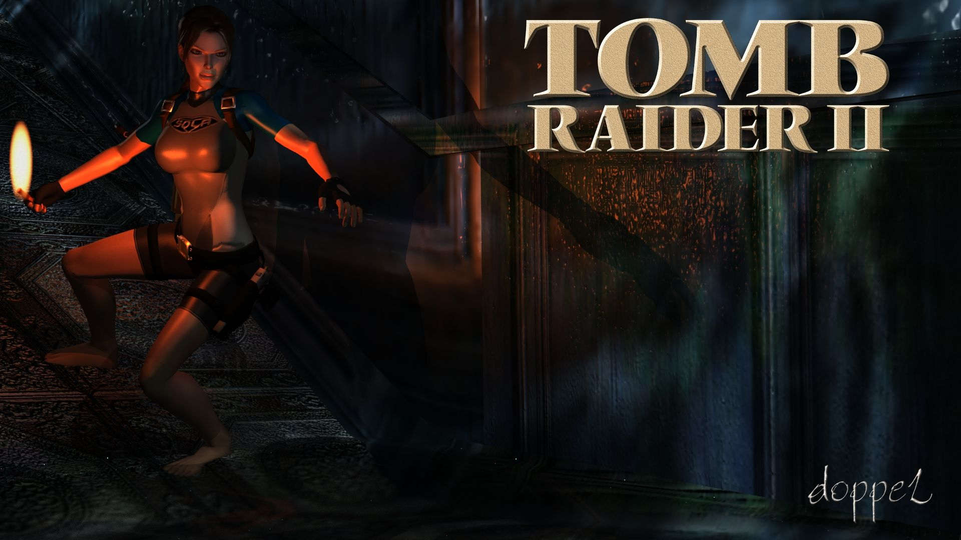 Tomb Raider 2 Remake Maria Do By Doppel Zgz On Deviantart Tomb