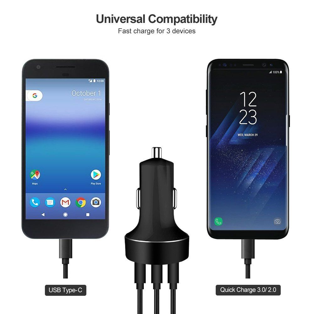 Slim PRO USB-C Cable Works for Asus ZenPad 3 8.0 Z581KL with Ultra Fast Data and Quick Charging Speeds