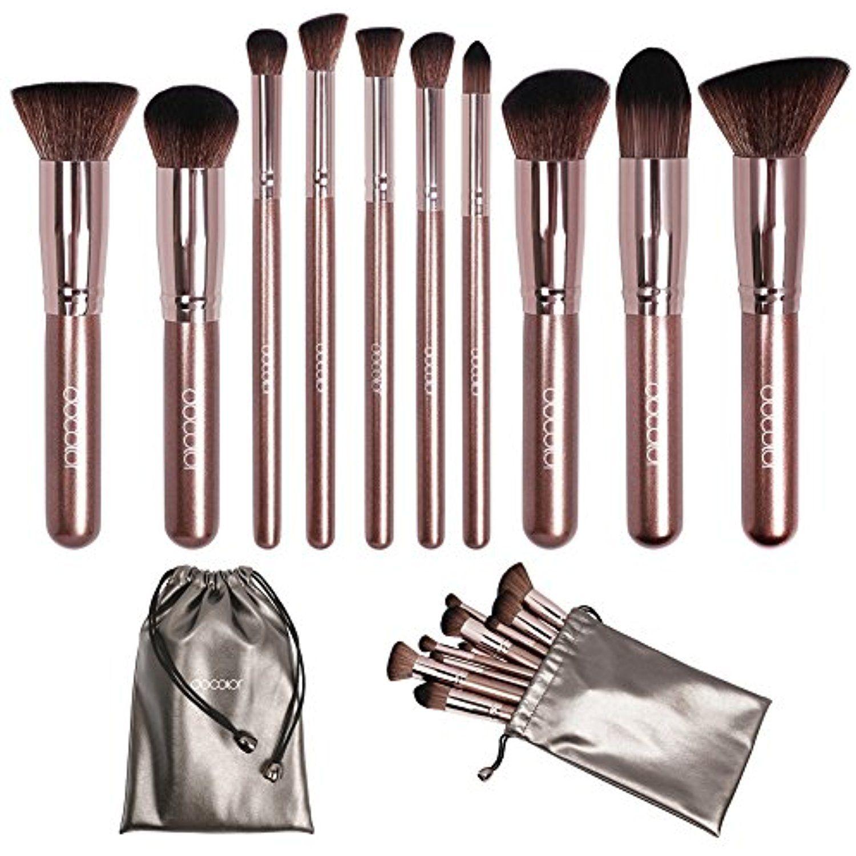 Docolor Makeup Brushes Premium Makeup Brush Set Synthetic