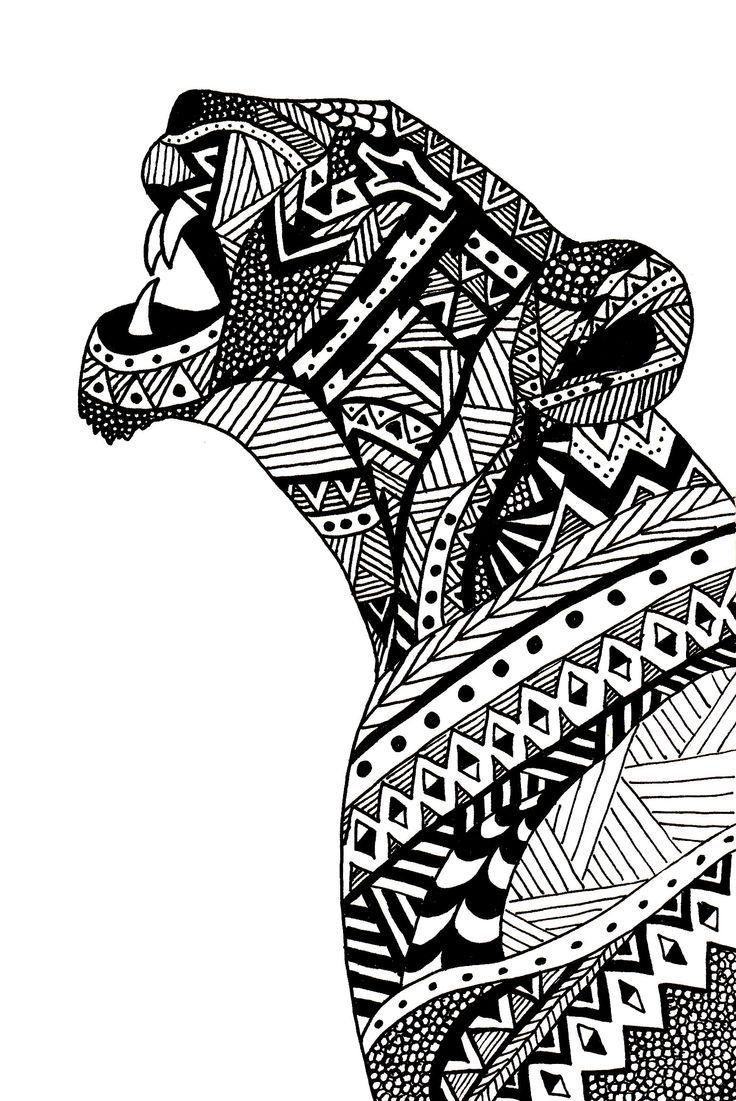 Чудесные раскраски животные.(очень много)2 часть (с ...