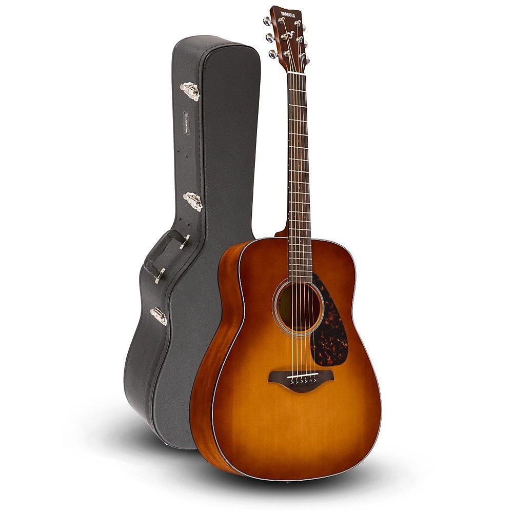 Yamaha Fg800 Folk Acoustic Guitar Sand Burst With Road Runner Rrdwa Case Yamahaguitars Yamaha Guitar Yamaha Fg800 Fender Acoustic Guitar