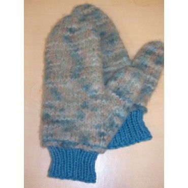 Mary Maxim Free Felted Mittens Knit Pattern Mittens Pinterest